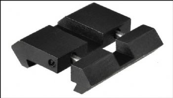 Leapers Airgun/Rimfire 9-11mm Dovetail to 2pc snap in Picatinny Adaptors (Pair)